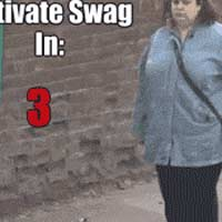 activate swag woman dancing