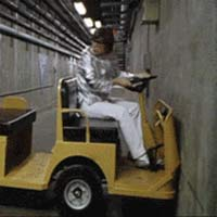 Austin powers stuck in tunnel