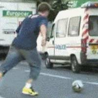 guy-kick-ball-inside-van
